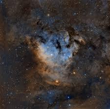 Interactive Night Sky Chart Sharpless 2 171 In Sho Astronomy Magazine Interactive