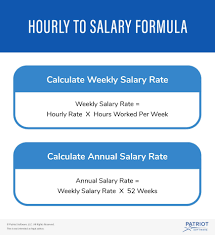 Monthly Paycheck Calculator Converting Employees From Hourly To Salary