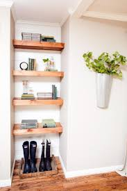 Decorating With Shiplap: Ideas From HGTV's Fixer Upper. Wood ShelvesShelving  UnitsBuilt ...