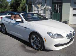 2012 Bmw 6 Series 650i Xdrive Awd Convertible Loaded Msrp New Was 98 695 Mineral White Stock 13175 For Sale Near Albany Ny Ny Bmw Dealer For Sale In Albany Ny 13175 Bul Auto Sales