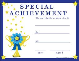 Free Online Printable Certificates Of Achievement Certificates Free Barca Fontanacountryinn Com