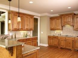 Small Picture Trendy Kitchen Colors With Wood Cabinets Color Ideas Oak Cabinets