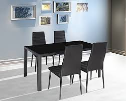 dining room great concept glass dining table. Famous Dining Room Concept: Miraculous Nova Square Chrome And Glass Table With 4 Leon Great Concept S