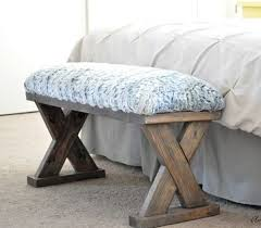 easy woodworking project x bench by anika s diy live