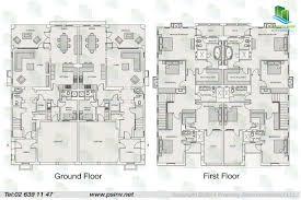 bedroom duplex floor plans saadiyat beach villas island