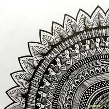 Moon Mandala Design Doodle Mandala Design Easy Doodle Art Mandala Design