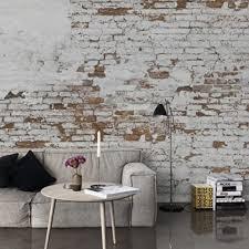 plaster brick wall design murals