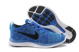 nike running shoes for men blue. nike flyknit lunar one+ running shoes men\u0027s blue/black sale online 554887-440 for men blue 2