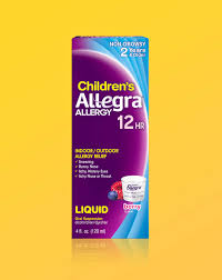 Childrens Allegra Liquid Allegra