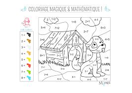Coloriage Magique Et Math Matique Le Chien Momes Net