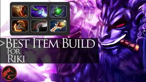 best item build for riki dota 2 item guide 3 youtube