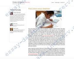 online essay database make the essay database essay database inetserv org