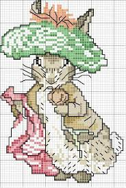 Image Result For Beatrix Potter Free Cross Stitch Patterns