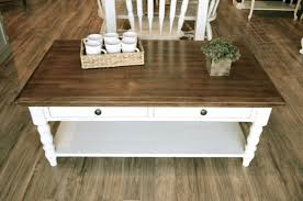 off white distressed coffee table farmhouse coffee table 14 d