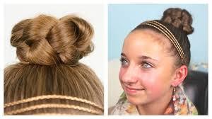 Black Braided Bun Hairstyles Simple Braided Bun Updo Cute Girls Hairstyles Youtube