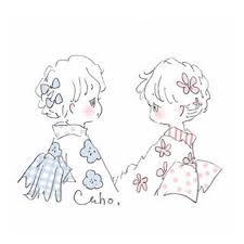 私も彼のことが好き かほ2019 Caho イラスト韓国 可愛い