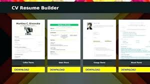 Free Resume Apps Smart Resume Builder Free Download For Android For