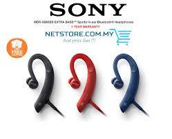 sony earphones. sony mdr-xb80bs extra bass sport wireless bluetooth earphones sony earphones -