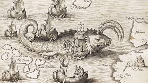sea monster illustration. Delighful Sea To Sea Monster Illustration O
