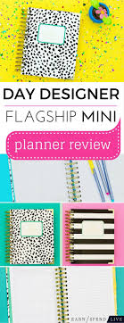 Day Designer Review 2016 Day Designer Flagship Mini Planner Review Tiny But Mighty