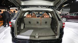 2018 chevrolet traverse interior. modren interior this new larger build brings the interior cargo capacity up to 985 cubic  feet after tucking away back row of seating in 2018 chevrolet traverse