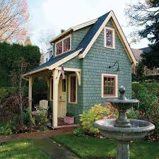 tiny house blog. Old-Time Garden Shed With Tiny Guest House At The Top, Gardenshed Guesthouse Blog