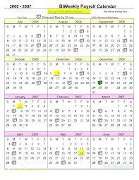 Payroll Calendar Template Cool Bi Monthly Calendar Template 48 Excel Word Google Sheets
