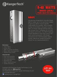 best images about mods kits dna smoking and vape vapor joes daily vaping deals the kanger kbox 40 watt box
