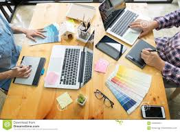 Design And Technology Supplies Graphic Design Partners Working Together Renovation And