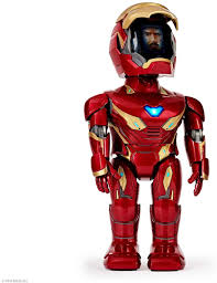 My point that first and foremost, coloring in is a fun. Amazon Com Ubtech Marvel Avengers Endgame Iron Man Mk50 Robot Red Toys Games