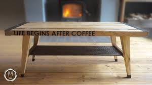 Build a modern coffee table using the free woodworking plans available at the link. 18 Surprising Diy Coffee Table Plans Free List Mymydiy Inspiring Diy Projects