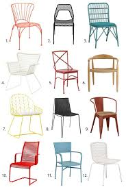 Small Picture Best Outdoor Dining Chairs 2013 Apartment Therapy