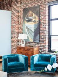 teal living room furniture. Cool Down Your Design With Blue Velvet Furniture   HGTV\u0027s Decorating \u0026 Blog HGTV Teal Living Room O