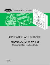 Carrier 69nt40 541 200 To 299 Service Manual Manualzz Com