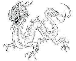 Realistic Dragon Coloring Pages Artigianelliinfo