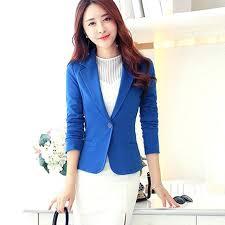 plus size white blazer las black formal jacket female blue women womens uk