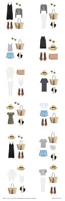 Packing List For Summer Vacation Summer Packing List On A Budget Hej Doll Simple Modern Living By