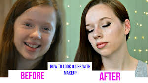 how to look older with makeup how to make yourself look