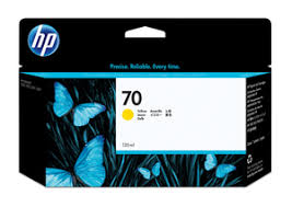 <b>HP 70 130 ml</b> Yellow Ink Cartridge with Vivera Ink | <b>Картриджи</b> ...