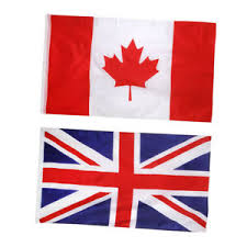 Details About Canada National Flag Maple Leaf With Uk Flag Outdoor Indoor Banner 3 X 5ft
