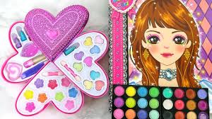 deluxe makeup cosmetic set barbie make up artist sketch باربي رسم ماكياج esboço de maquiagem barbie