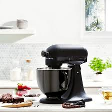 kitchenaid long known for its colourful and coveted stand mixers today unveiled its first monochromatic version as a limited edition offering