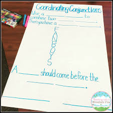 Complex Sentence Anchor Chart Teaching With A Mountain View Coordinating Conjunctions And