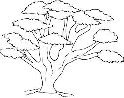 Personaggio Cartone Animato Da Colorare Alberelli Da Colorare