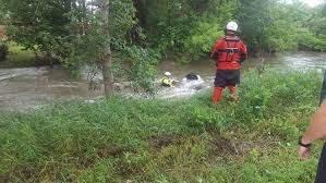 Man found dead in overturned car in Rapid Creek