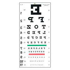 21 Proper 10 Foot Eye Chart