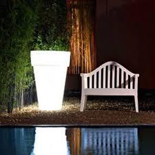 led classic light up planter