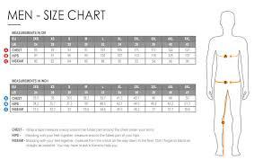 Cycling Jersey Size Chart Size Charts Funkier Bike