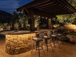 Patio Accent Lights Outdoor Kitchen Lighting Ideas