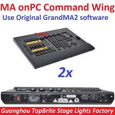 Ma Lighting Grandma2 Fader Wing 2xlot Ma Onpc Command Wing Dmx Console Control 2048